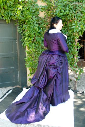 Victorian Dress Train